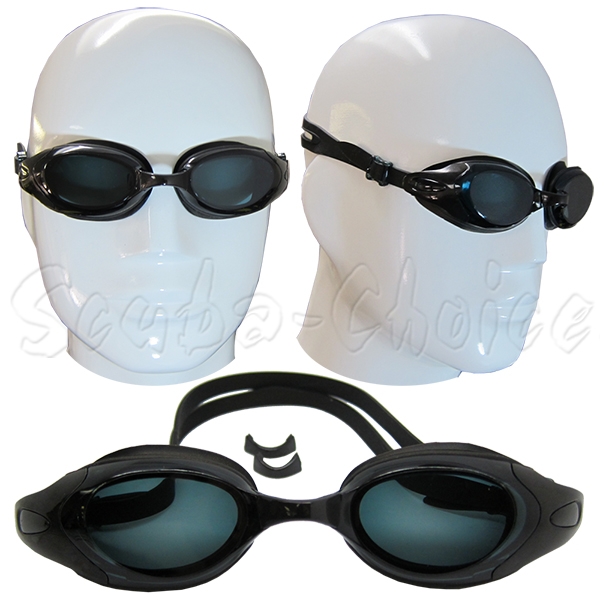Black-UV-Nearsighted-Prescription-Corrective-Optical-RX-Lenses-Swimming-Goggles