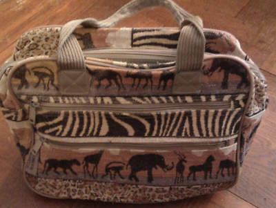 Smcurtis906 Pioneer Express Safari 2pc Travel Bag Set