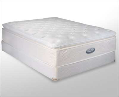 Floridamattress Simmons Beautyrest King Mattress Plush Super Pillow Top