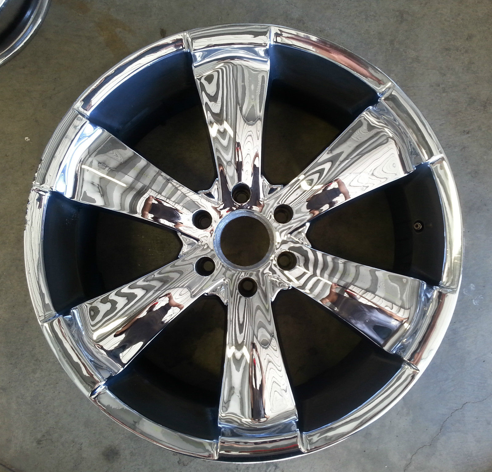 Av Wheel 22 Inch Mkw Mk 18 Wheels 22x9 5 Chrome Chevy