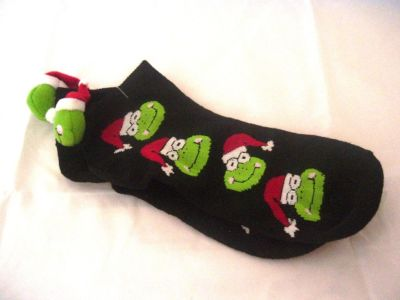 Theauctionchic New Womens Funny Cute Ugly Frog Christmas