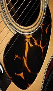 trampasguitars : Vintage Martin Acoustic DARK Faux Tortoise