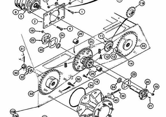 Case 1845c Skid Steer Loader Backhoe Parts Owners Service Manual Pdf 1600 Pgs