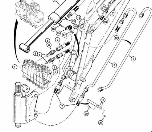 Case 1845c 1996 And Up Skid Steer Loader Service Manual Parts Ops