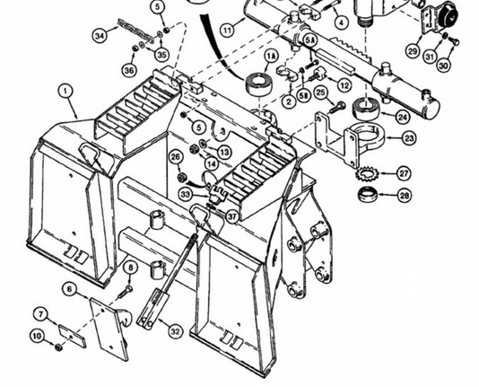 case 1845c skid steer parts manual