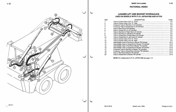 case 1845c skid steer loader service manual parts manual owners rh ebay com case 1845c wiring diagrams wiring diagram case 1845c skid steer