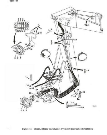 Wiring Diagram 580 E Case Similiar Case B Backhoe Parts List
