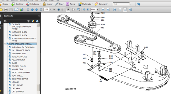 kubota b7800 hydraulic diagram kubota b2910