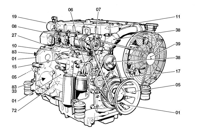deutz 1012 1013 service manual workshop repair maintenance
