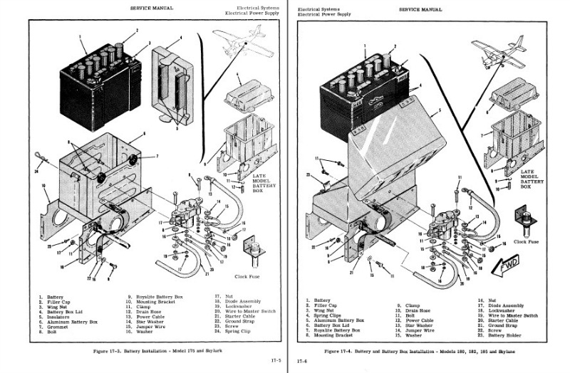 Details About Cessna 172 Service Manuals Parts Manuals Collection Hundreds Of Pages Custom CD