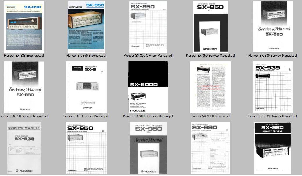 Pioneer service manuals schematics custom dvd collection image hosting by vendio fandeluxe Gallery