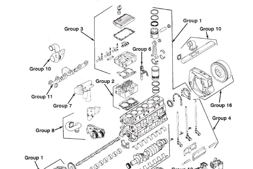 cummins n14 1991 diesel engine shop service manual celect. Black Bedroom Furniture Sets. Home Design Ideas