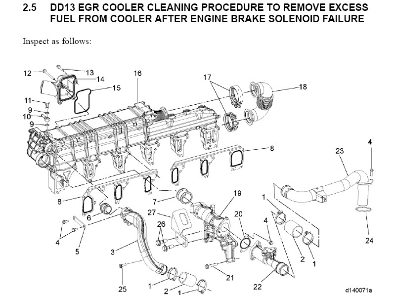 detroit diesel dd13 dd15 dd16 workshop engine service