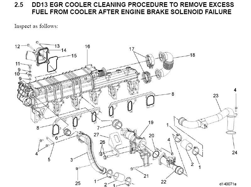 detroit diesel dd13 dd15 dd16 workshop engine service