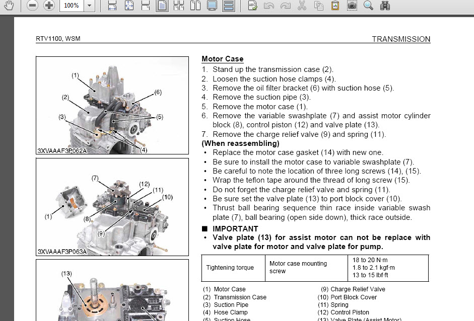 kubota rtv 1100 900 factory digital service manual repair 2004 to rh ebay com Kubota RTV 900 Parts Diagram Kubota Ignition Switch Wiring Diagram 4 Pin