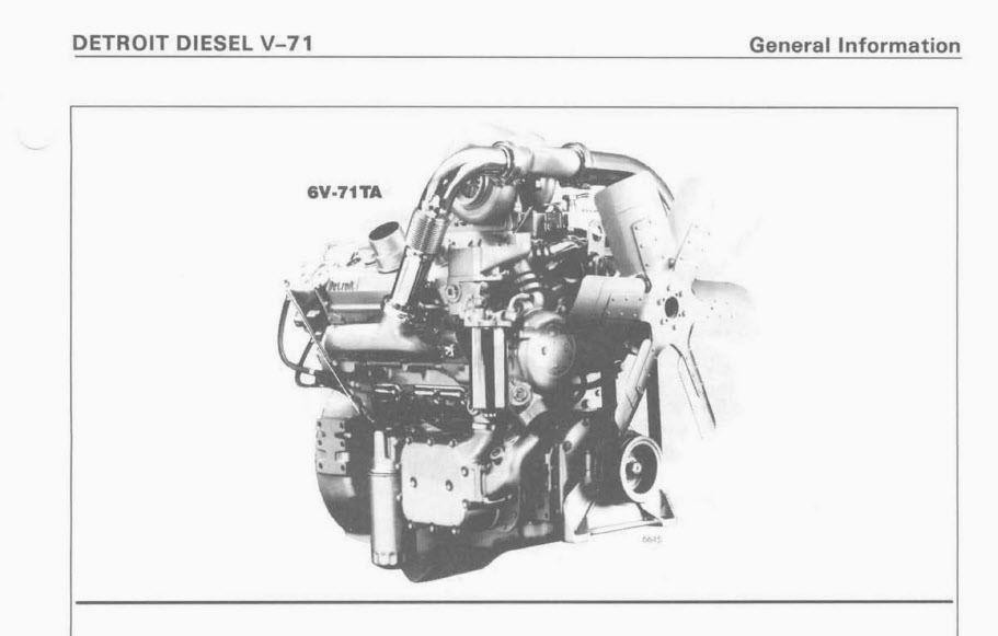 Detroit 6 71 service Manual
