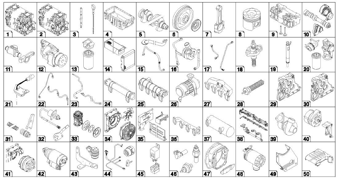 Deutz 2011 F3l2011 Parts Manual F4m2011 Service Manual Bf