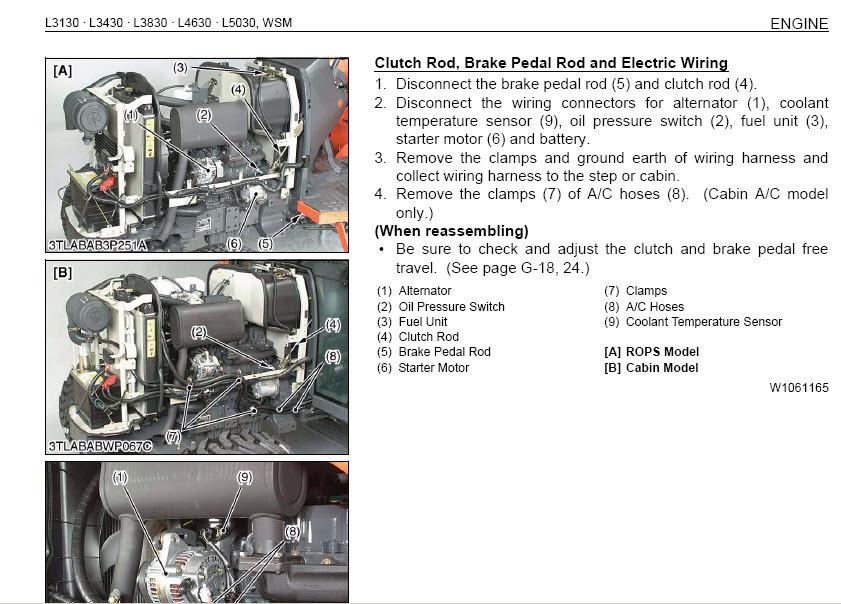 Electrical Wiring Diagram Kubota 5030. . Wiring Diagram on