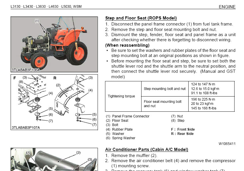 Kubota L3830 Parts Diagram - Wiring Diagrams ROCK