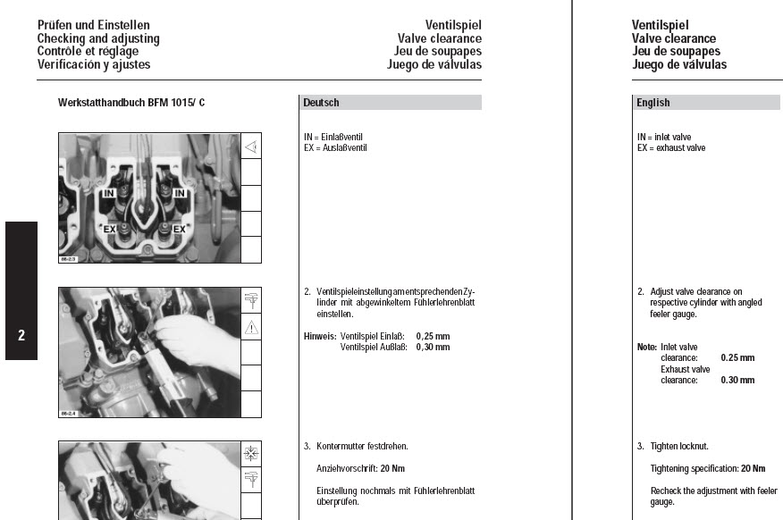 Details about Deutz 1015 Service Manual Workshop Engine Repair bf6m1015  BF6M BF8M *PDF CD*