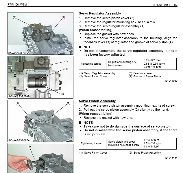 Details about Kubota RTV 1100-900 Factory Digital Service Manual Repair  2004 thru 2010 PDF CD