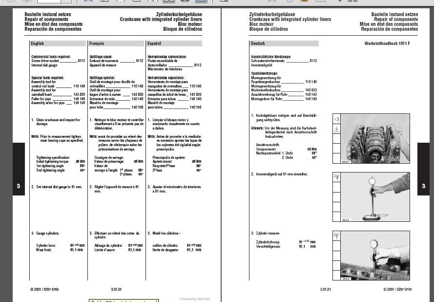 deutz 1011f engine manual tractor truck shop repair service manual rh ebay com deutz f3l1011f service manual deutz f3l 1011f workshop manual