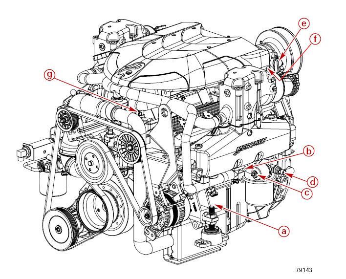 Mercury MerCruiser 350 305 377 Engine Motor Boat Repair Service Manual **Nice**