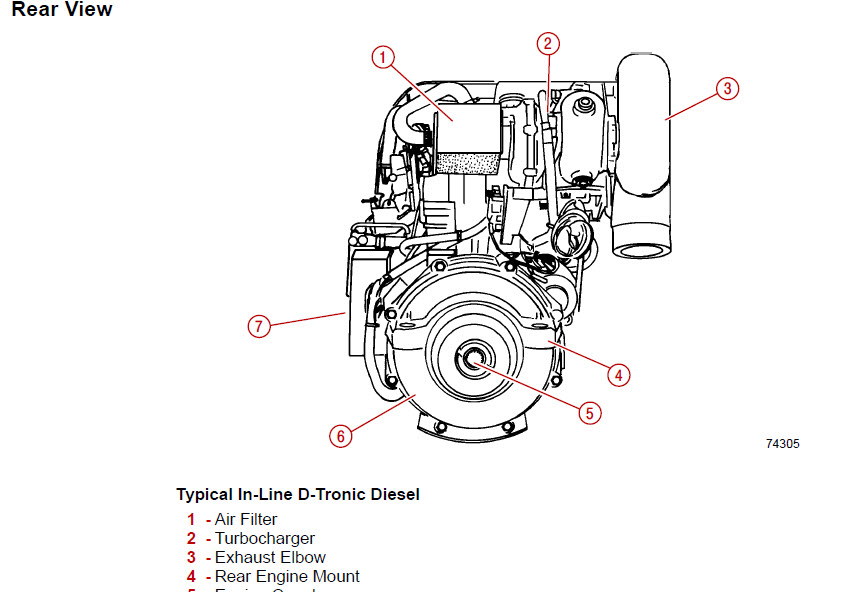 mercury mercruiser d 2 8l d 4 2l diesel inline d tronic factory rh ebay com