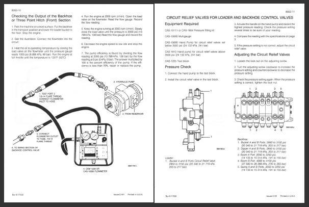 Case 580 Super K Loader Backhoe Service Manual Repair
