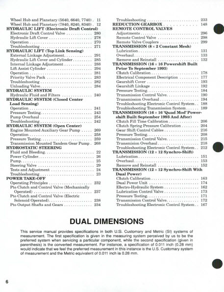 Details about Ford 5640 6640 7740 7840 8240 8340 Tractor Service Manual  Shop Repair **PDF CD**