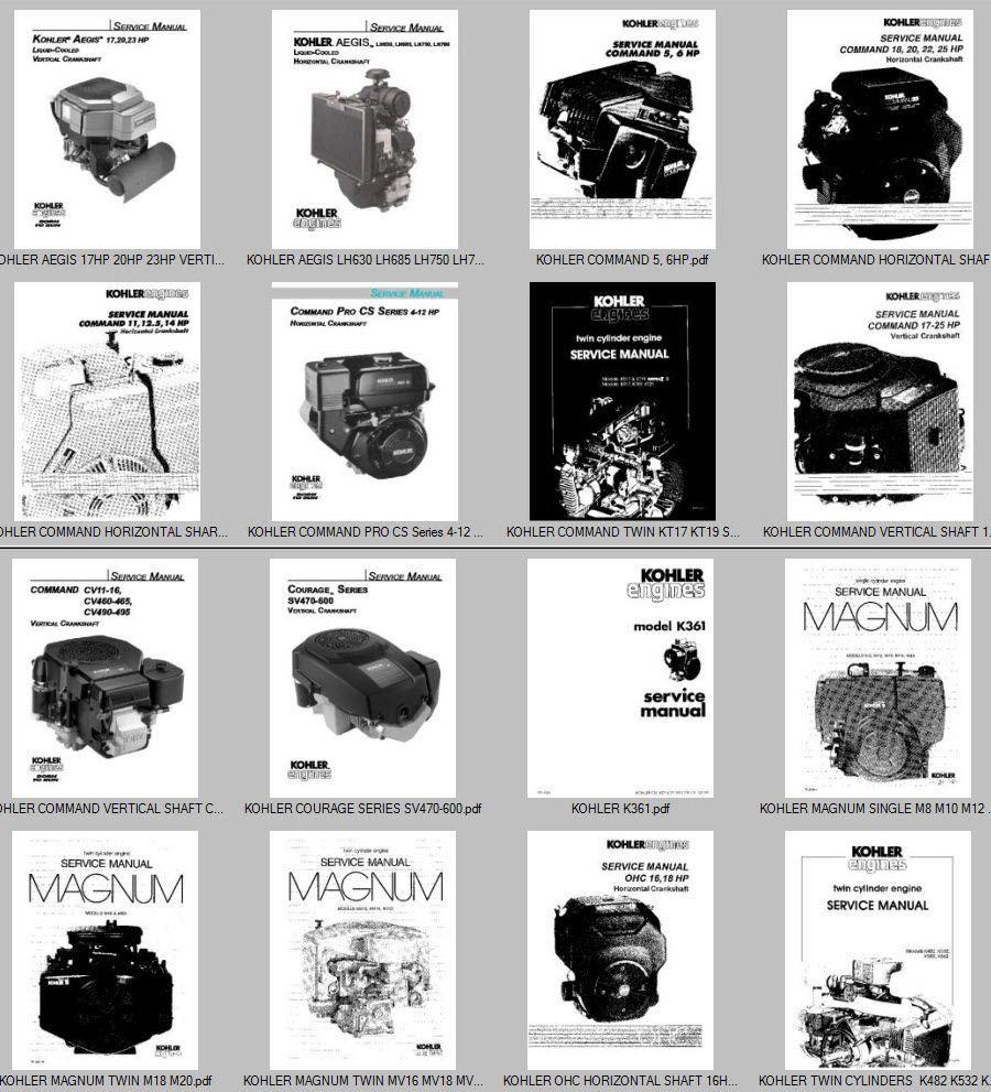 Kohler K482 K532 K582 K662 Twin Cylinder Service Manual 16 Extra K361 Wiring Diagram Image Hosting By Vendio