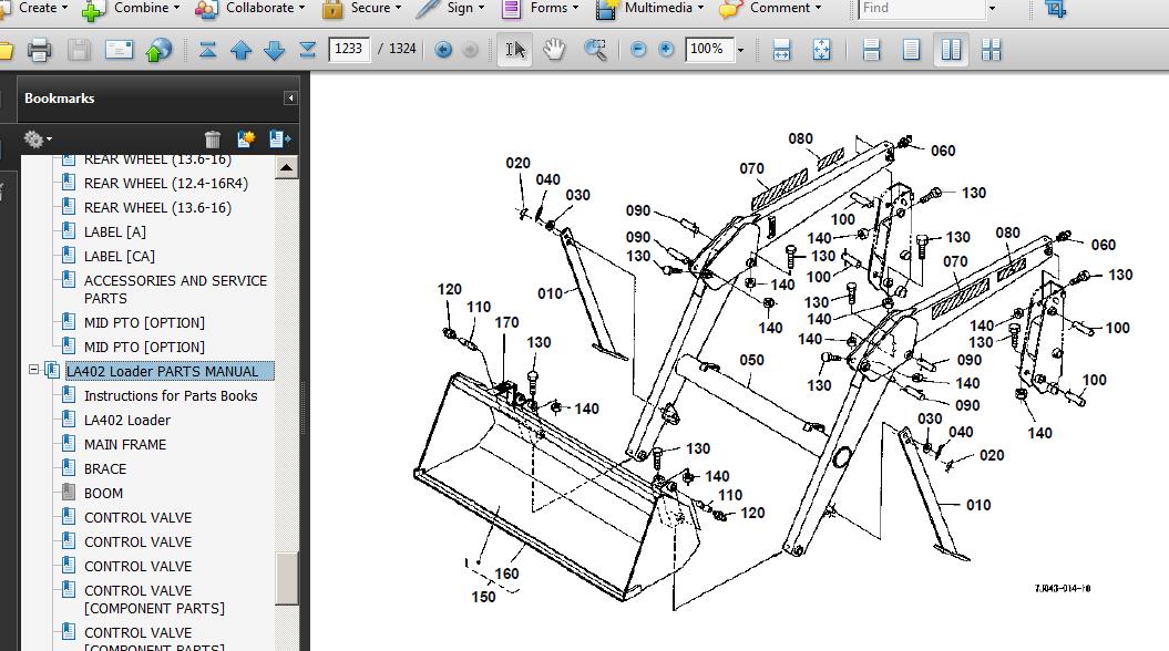 Kubota B2410 B2710 B2910 B7800 Tractor Service Operator Parts Manuals Cd  Nice