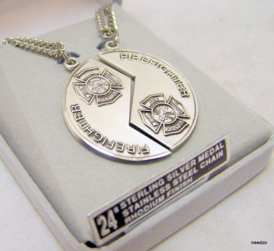Mizpah Firefighter Jewelry
