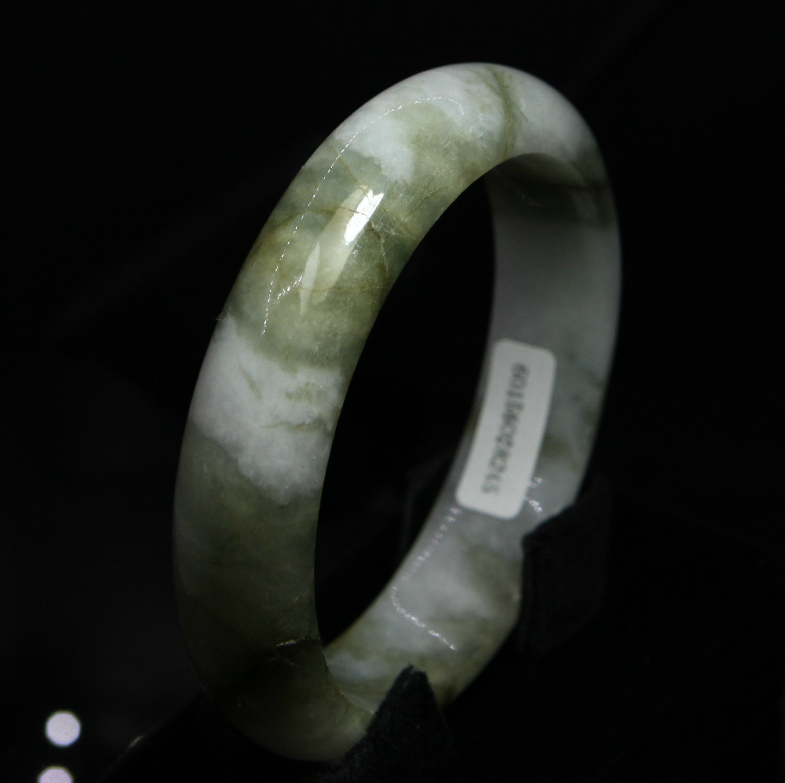 violet send genuine spring jade color item from the huang in drifted natural bangles fei bracelet certificate bracelets jewelry
