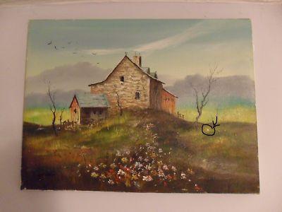 Everett Woodson Oil Painting