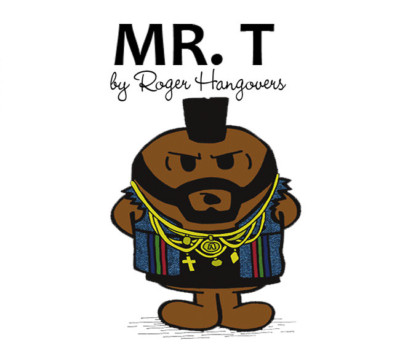 distilleddesigns : Funny Collectable Mr Men Style Fridge Magnet - Mr T