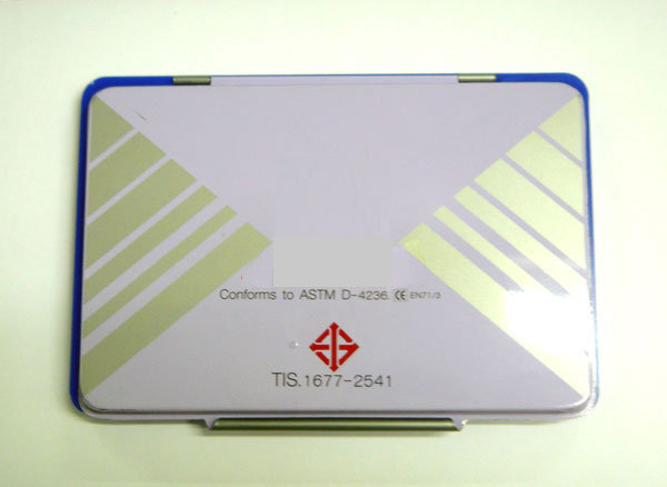 Smileshop : New STAMP PAD conforms to ASTM D-4236./TIS.1677-2541 on