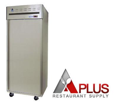 Ascend 1 solid door cooler refrigerator atm 21r a plus for Equipement resto plus