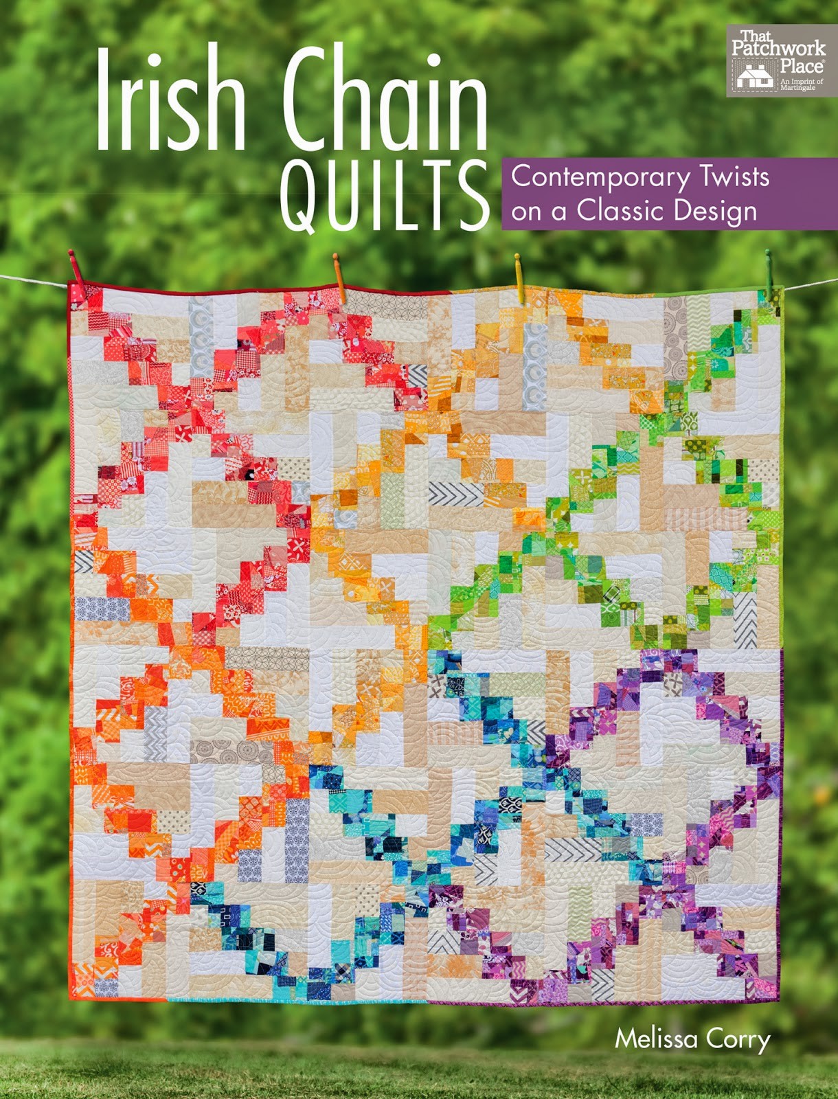 Fat Quarters Quilt Shop For all your quilting & fabric needs : Irish Chain Quilts: Contemporary ...