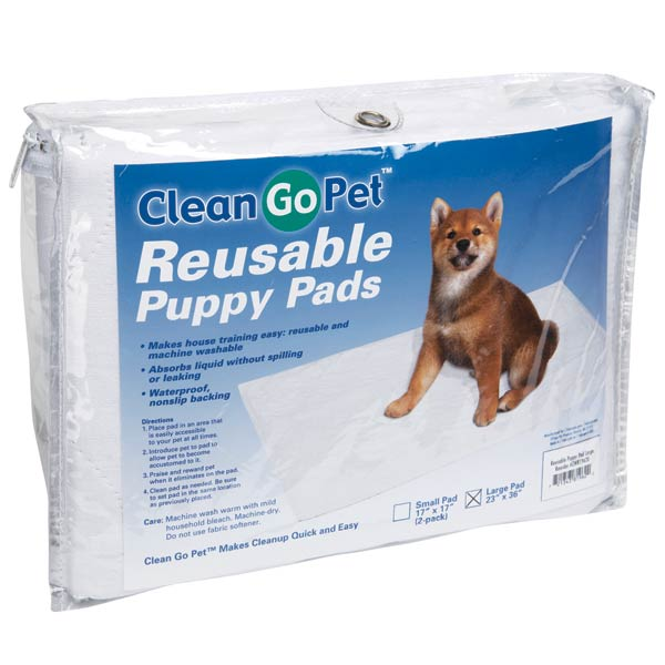 how to use puppy pee pads