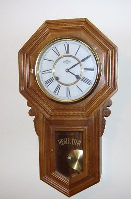 Kimos Old Stuff Vintage Dea Regulator Wind Up Wall Clock