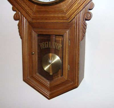 Kimos Old Stuff Vintage Dea Regulator Wind Up Wall Clock