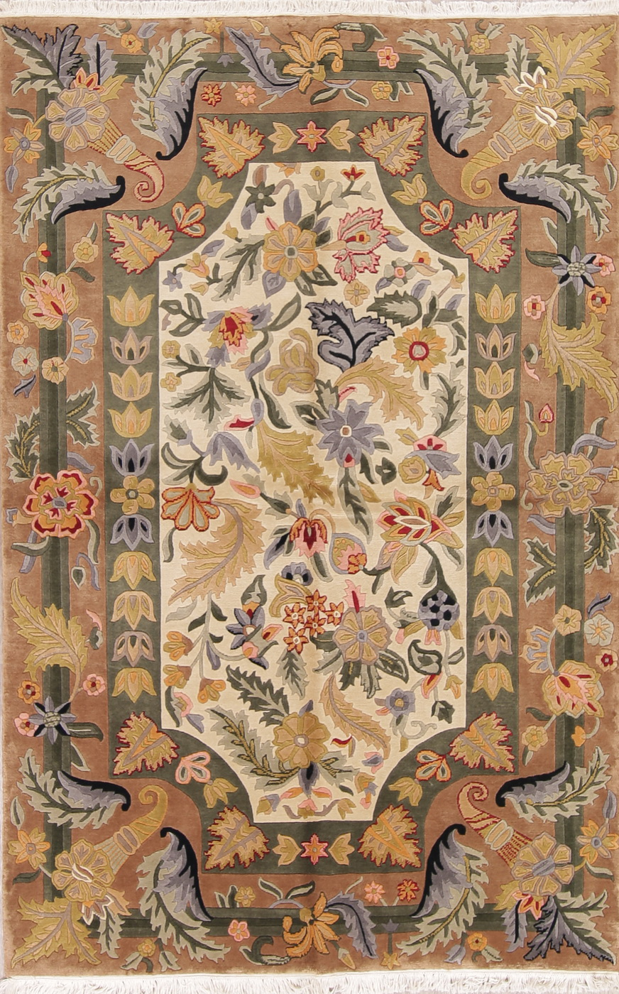 Breathtaking Carved Transitional Floral Nepalese Tibetan
