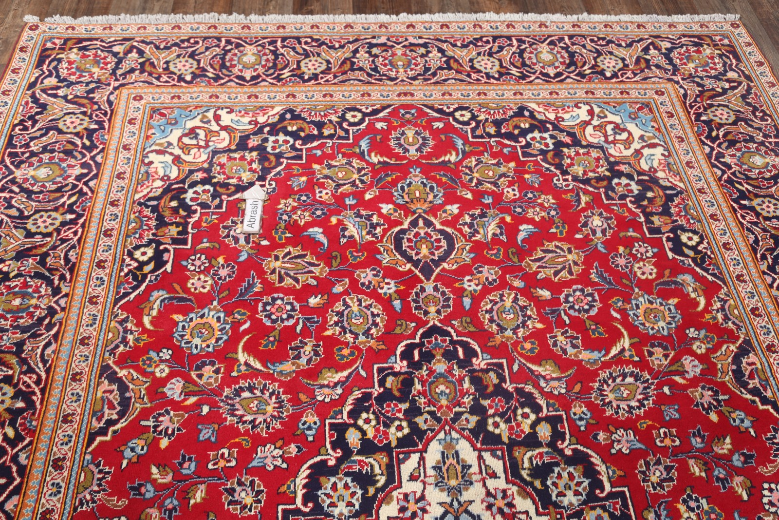8x11 Kashan Persian Area Rug Vintage Traditional Floral