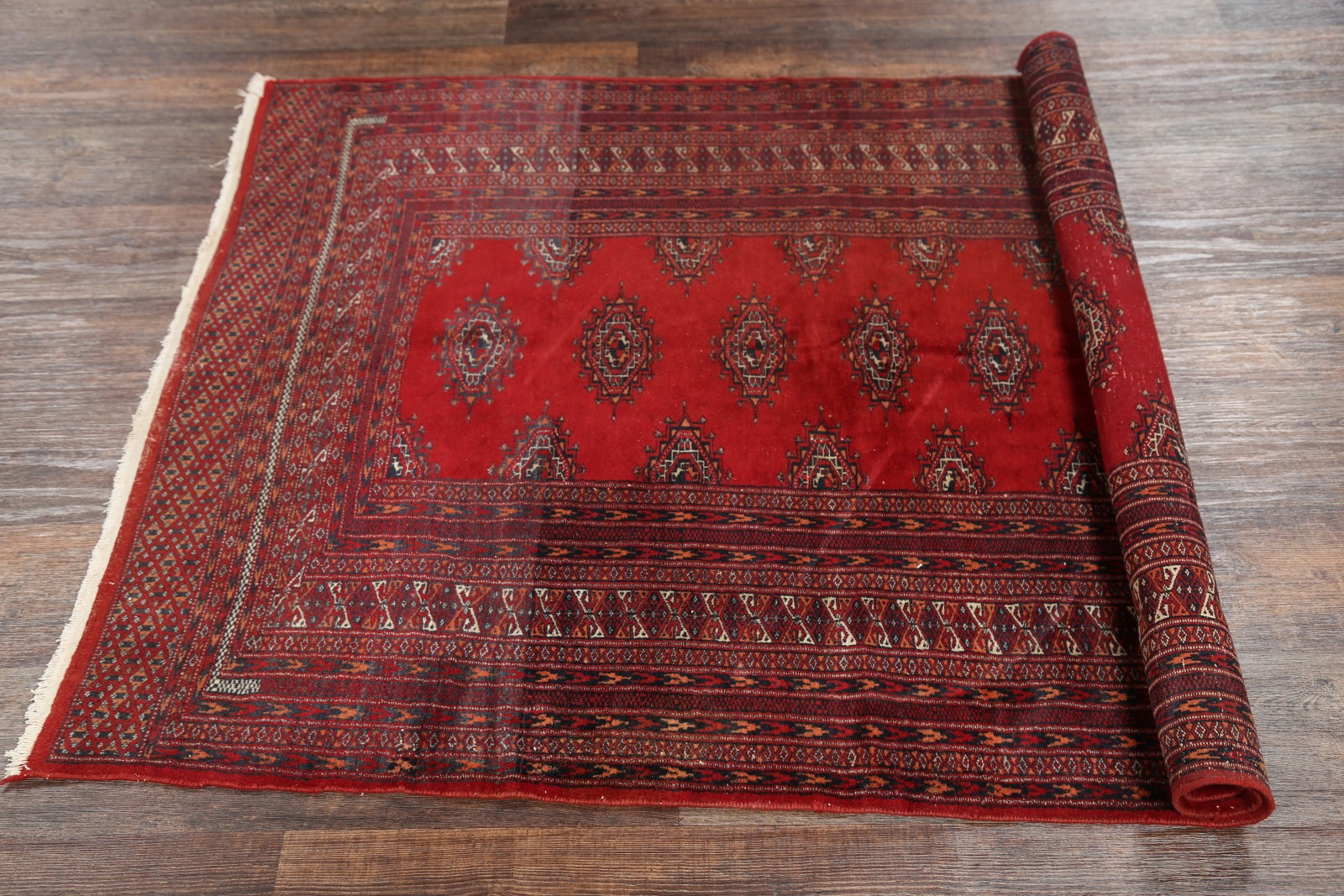 What Size Should Foyer Rug Be : Knots vintage geometric foyer size bokhara