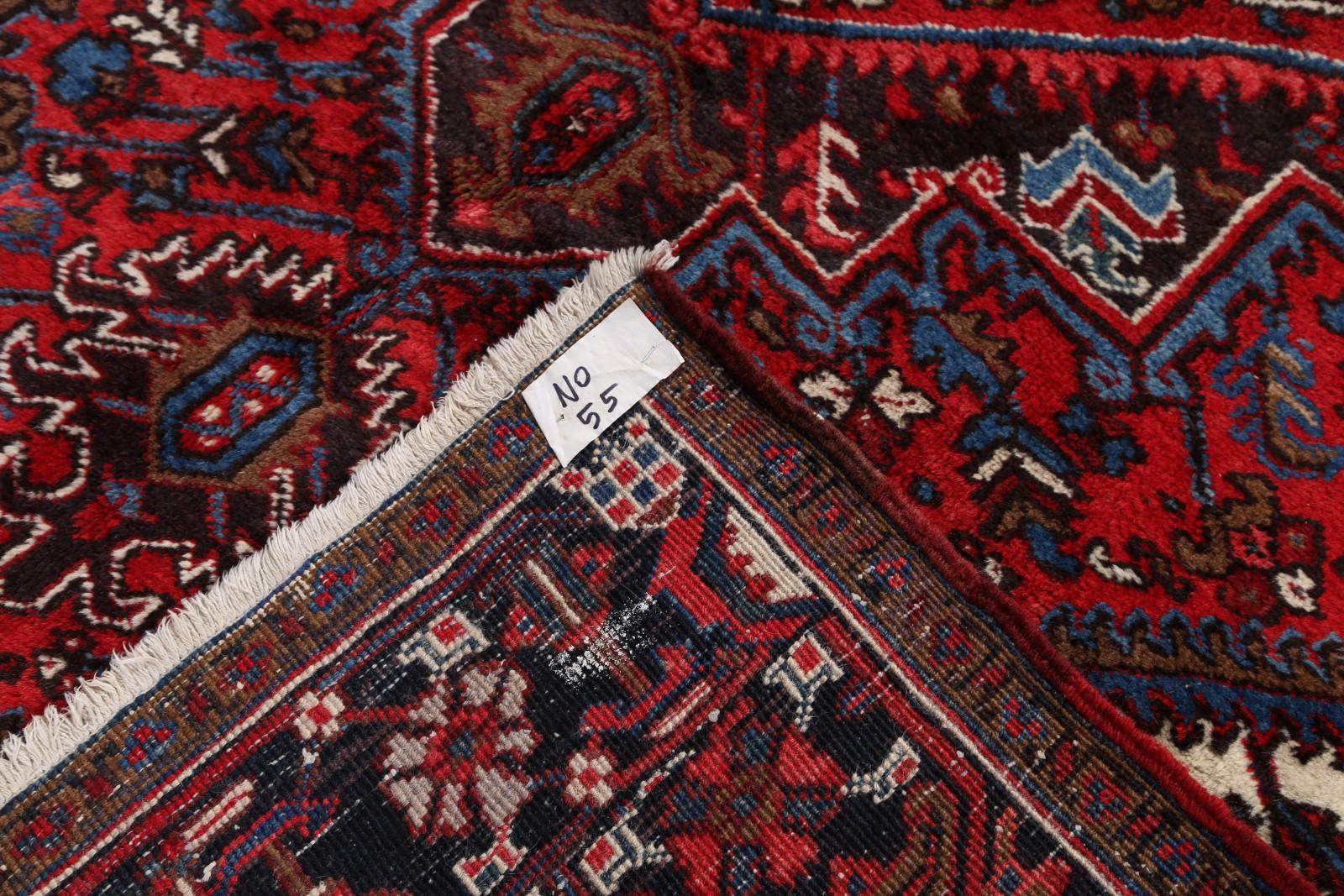 End Of Summer Deal Vintage Geometric Heriz Persian Hand