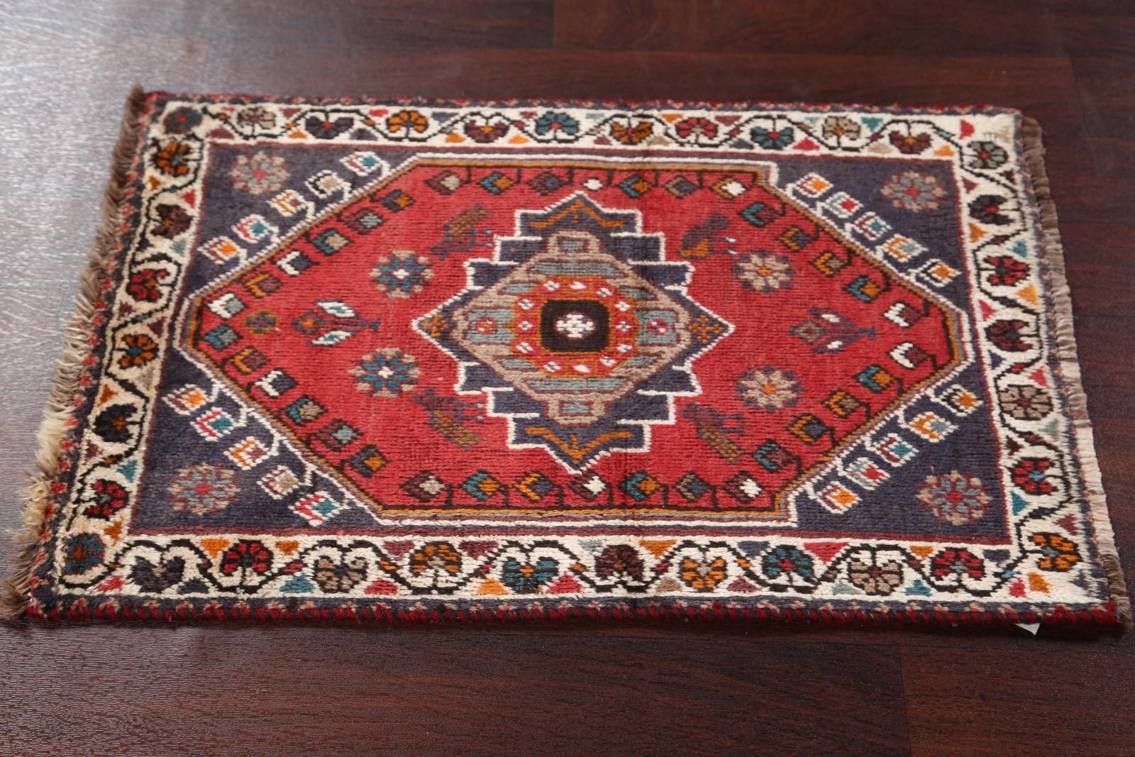 Foyer Rug Uk : Antique geometric foyer size handmade shiraz persian