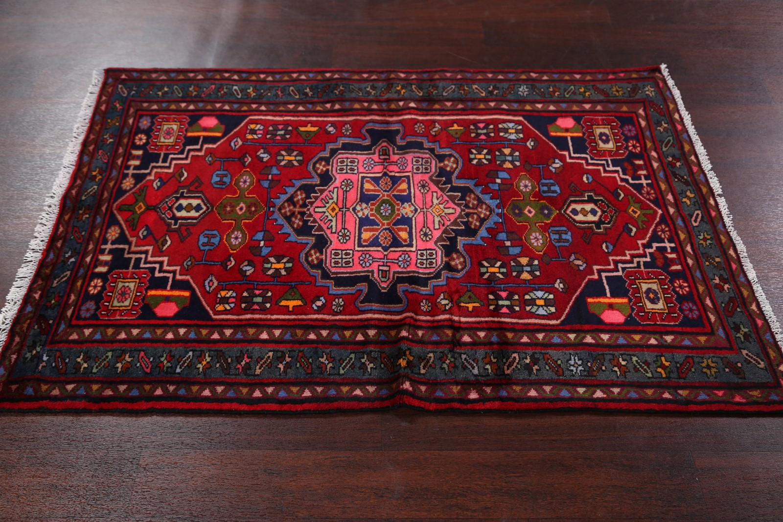 What Size Should Foyer Rug Be : New geometric foyer size hamedan persian oriental area