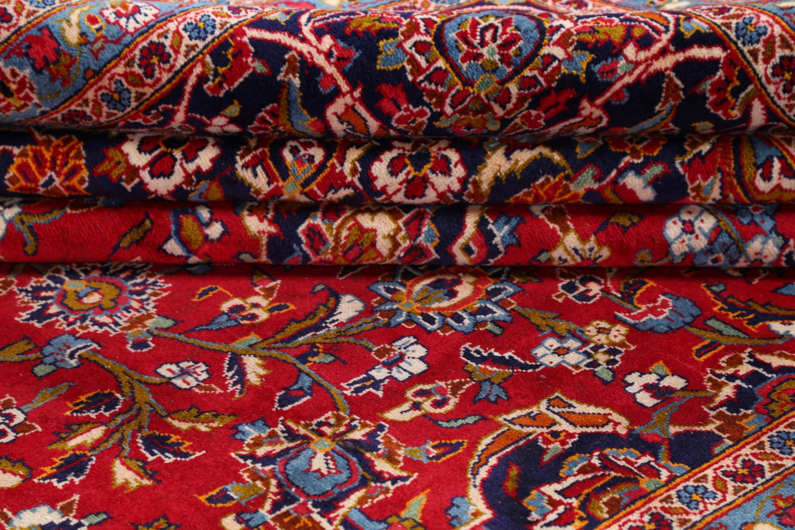 Mansion 10x16 Kaashan Persian Rug Vintage Handmade