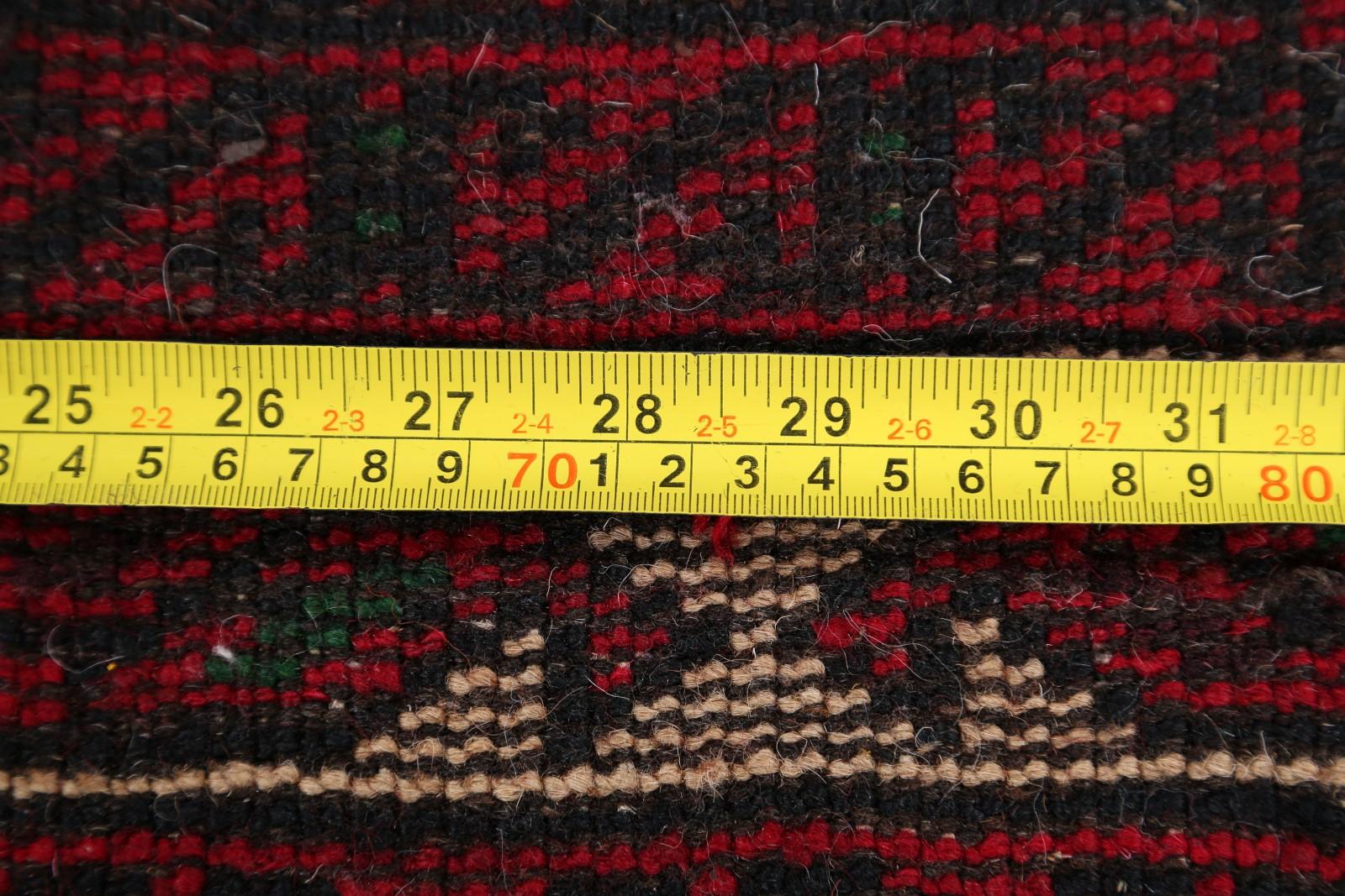New Handmade Wool Geometric Tribal Foyer Size 4x6 Balouch